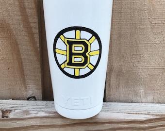 Yeti Boston Bruins Powder Coated 20oz