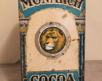 Vintage Monarch Tin