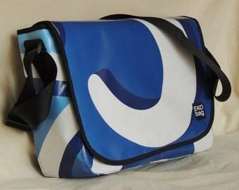 Large Messenger bag, Diaper bag, carry-all bag, men's bag, women's bag, laptop bag, Recycled, 7001004