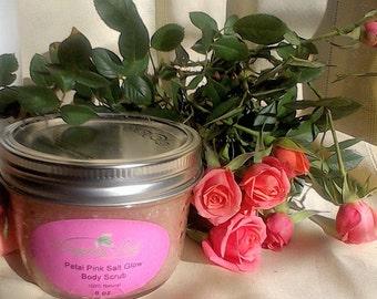 Petal Pink Salt Glow Body Scrub