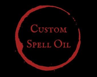 Custom Spell Oil
