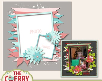 Revel In Ribbons #2 Digital Scrapbooking Template