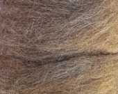 Alpaca Roving - Rose Grey .25 oz