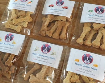 TREAT PACKET OFFER (4 for 10) - Variety of flavours, Handmade, natural & gluten free dog treats