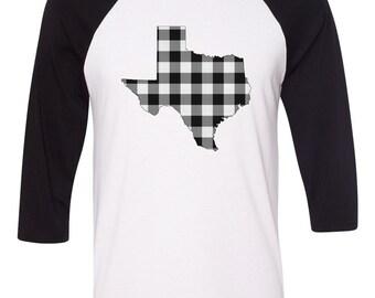 Texas Plaid T-shirt