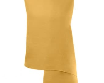 Gold Pashmina / Gold Shawl / Gold Wrap - 100% Cashmere - Handmade in Nepal - Pashminas and Wraps