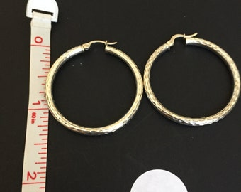 Vintage Sterling Hoops-Your choice