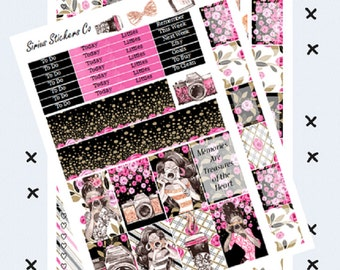 Photograph // Printable Planner Stickers // Happy Planner