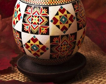 Ukrainian eggs Pysanka, Easter painted egg, Decorative eggs