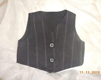 Baby boy vest, newborn vest, newborn boy vest, photo prop