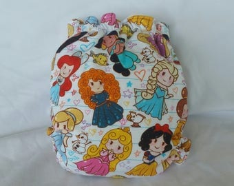Disney Princess all in two cloth diaper