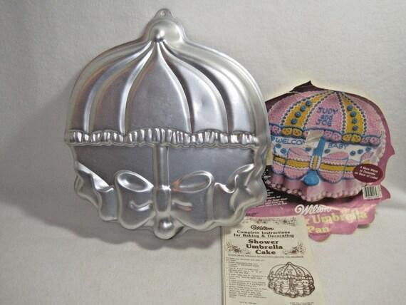 wilton shower umbrella cake pan 2105 2293. Black Bedroom Furniture Sets. Home Design Ideas