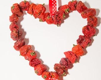 Dried Chilli Heart