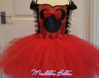Minnie mouse style tutu dress