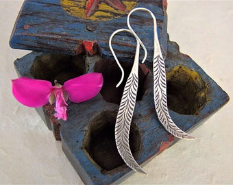 Sterling silver earrings. Silver jewellery. Ethnic Jewellery. Ethnic Silver earrings. Ethnic jewelry. Silver jewelry.