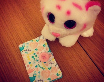 Cotton card holder