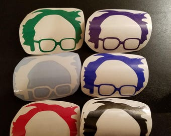 Bernie Sanders vinyl sticker