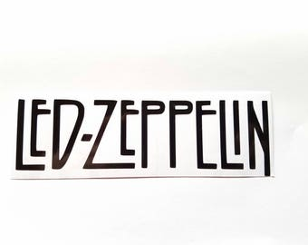 Led Zeppelin band vinyl sticker