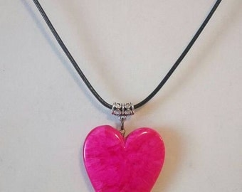 Big heart Necklace.