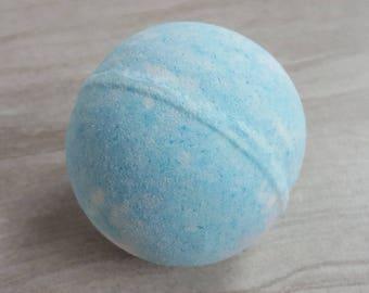 Blue Bath Bomb, Ocean Breeze Bath Fizzies, Beach Bath Soak, Tropical Bathbombs, Fizzy Bath Bombs Bath, Bath Booms, Speckled Bath Bomb Gift