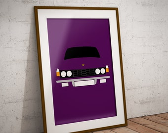 Personalised Rover P6 Print