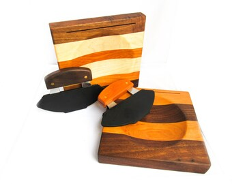 Ulu Board - Mixed Hardwoods