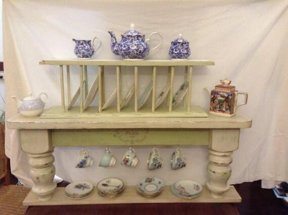 Complete tea pot shelf