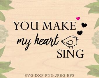 Summer svg files svg sayings love svg wedding svg files for silhouette Bird svg Eps valentine DXF files Cricut downloads Cricut files