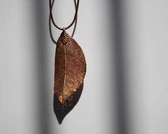 Copper Leaf Pendant (37)