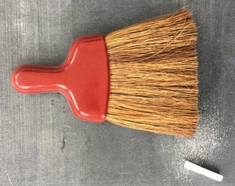 Brush with Rust Colored Handle