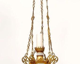 Antique Sanctuary Lamp
