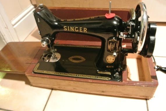 singer crank sewing machine serial number