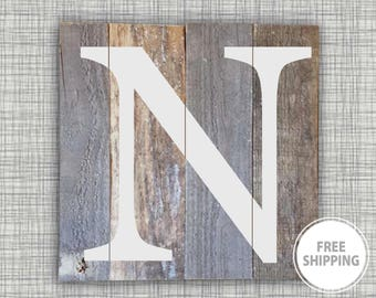 Wooden wall letters, Woodland nursery decor, Personalized wood signs, Wooden letters for nursery, Reclaimed wood, Hanging letters