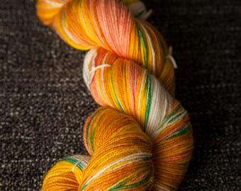 100 grams superwash sock yarn in BELLINI
