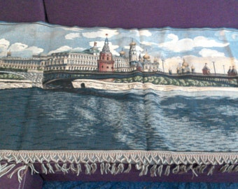 """Vintage gobelin tapestry """"Moscow"""""""