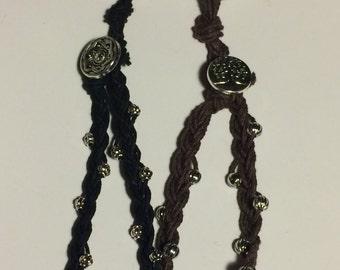 Braided Hemp Keychains