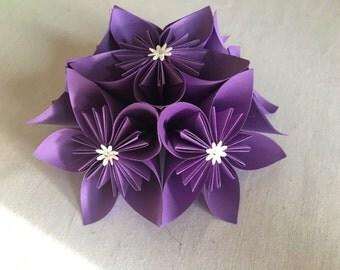 Kusudama flower centrepiece