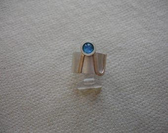 Silver Ring with Opal 2