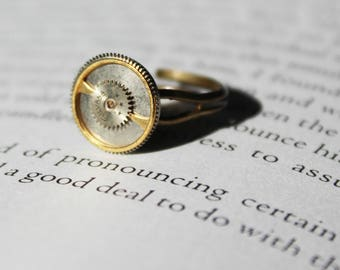 Steampunk Brass Ring
