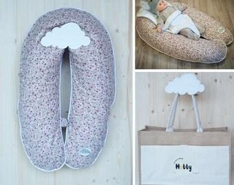 Cushion maternity pack 3 in 1 - 2 m, ultrafine microbeads cushion - Hubby London