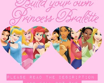 Build Your Own Princess Bralette