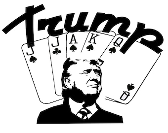 Trump Tshirt Euchre Political Tee - Pick size and color - Free Shipping!