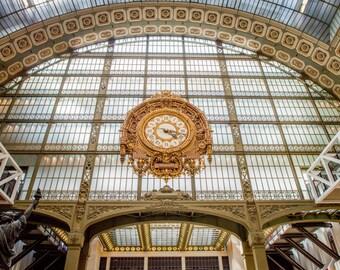 Musée d'Orsay, Paris Photography, French Home Decor, Paris Print, Fine Art Photography, Paris Wall Art, Paris Architecture, Musee D'Orsay