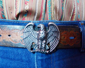 Vintage Eagle Belt Buckle