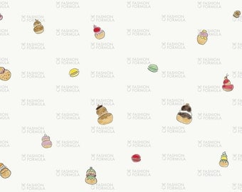 Cakes Fabric by AgatheSTS