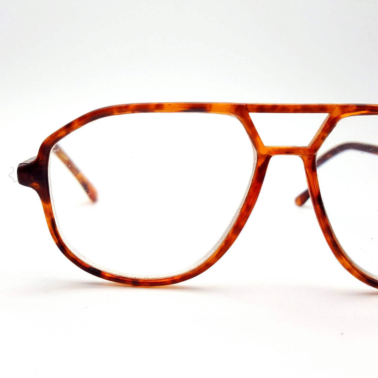 Foster Grant Plastic Aviator Eyeglasses Vintage from the 70s ...