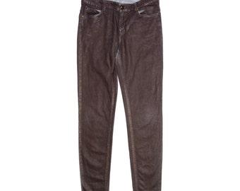 Vintage Vivienne Westwood Anglomania Lee ® women jeans Classic Skinny Jean brown W31/L33