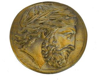 Philip II of Macedon desk press papier bronze paperweight