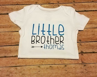 Custom Little Sibling (Brother or Sister) Shirt
