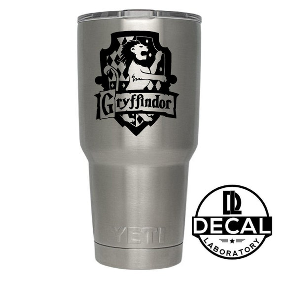 Yeti Decal Sticker -  Gryfinndor House decal inspired by Harry Potter Decal Sticker For Yeti RTIC Rambler Tumbler Coldster Beer Mug